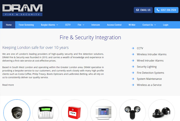 Dram Fire & Security