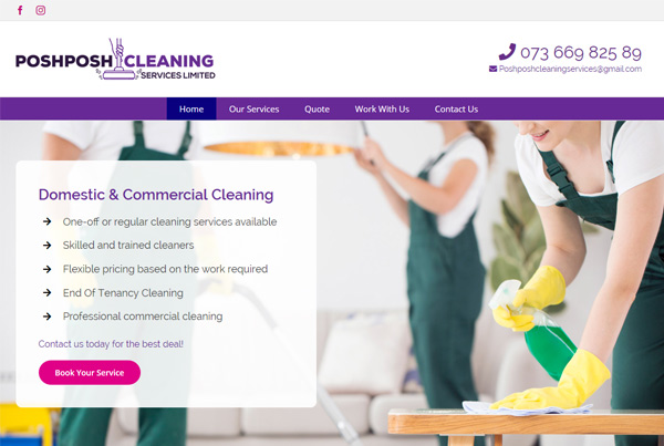 PoshPosh Cleaning