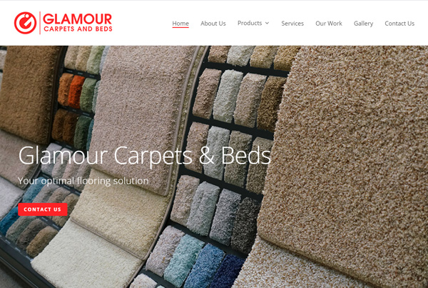 Glamour Carpets and beds